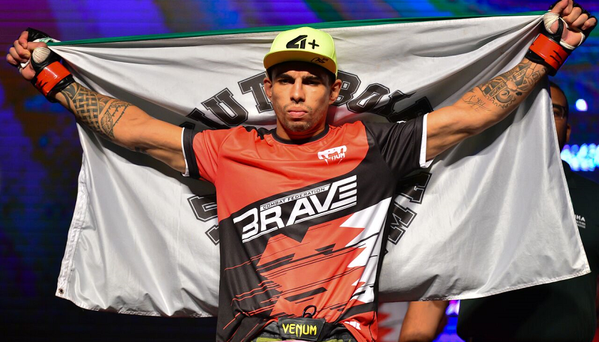 Ahead of Featherweight title fight, Lucas Mineiro vows to become two-division champion at Brave