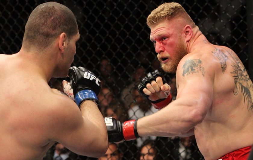 The day Velasquez took Lesnar's throne in the UFC
