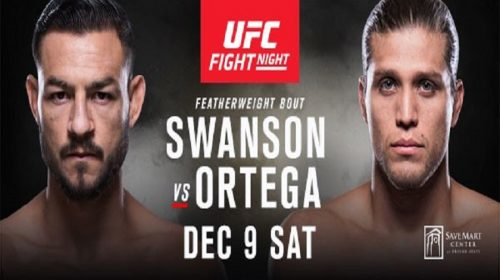 Cub Swanson and Brian Ortega Meet In A Home State Showdown In Fresno