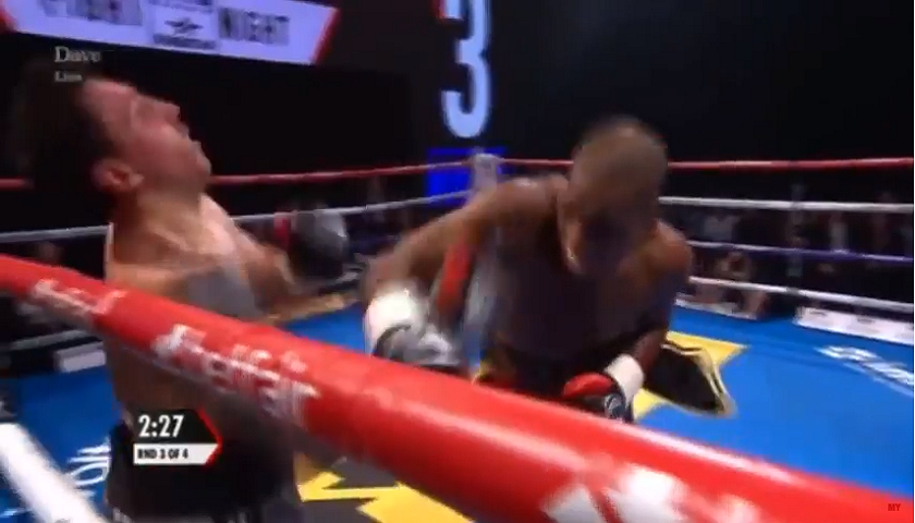 VIDEO: Michael Venom Page knocks opponent out in pro boxing debut