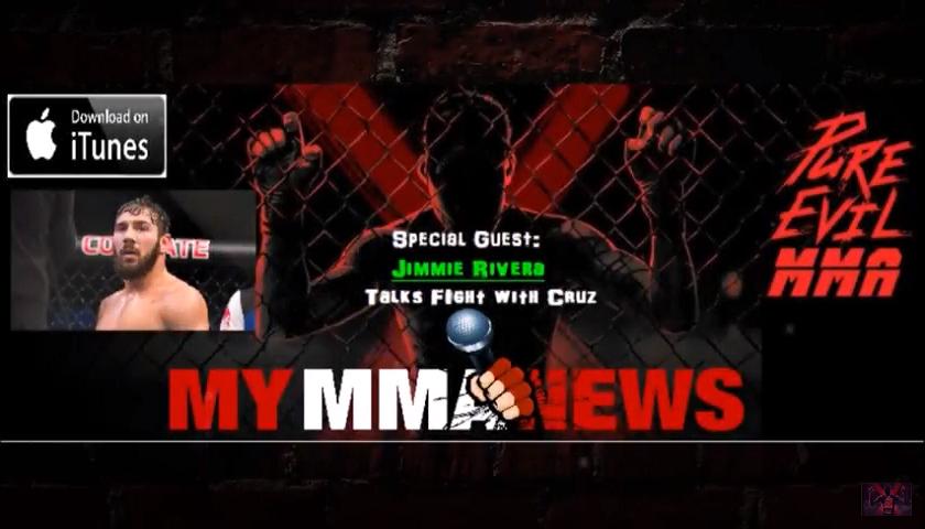 Jimmie Rivera, Purel EVil MMA, UFC 219, Diaz married