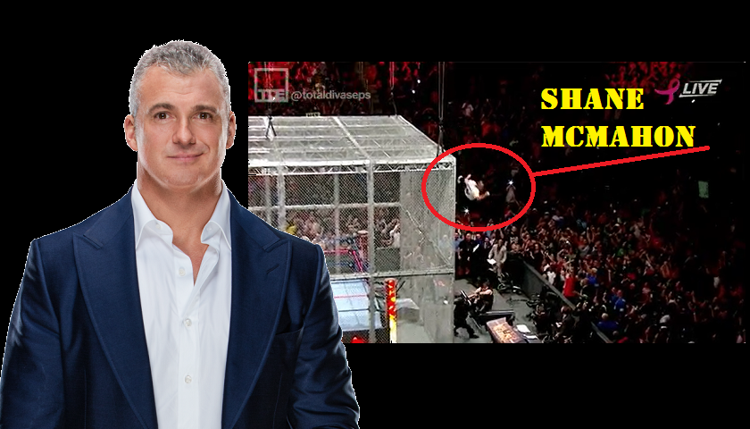 WWE Commissioner Shane McMahon seriously injured after leap from cage during Hell in the Cell match