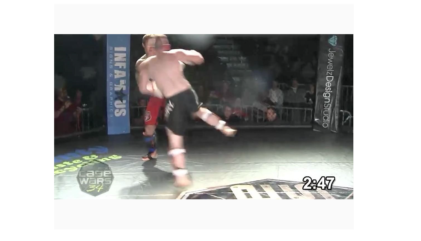 Willette ends Cage Wars 34 fight with a Superman punch