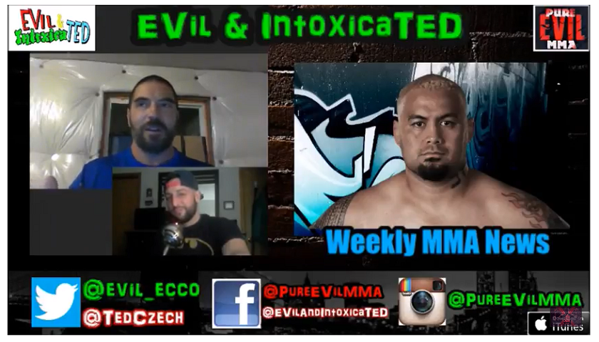 New EVil And IntoxicaTED #59 - UFC 216 Preview + Cyborg Mad + Fight Announcments