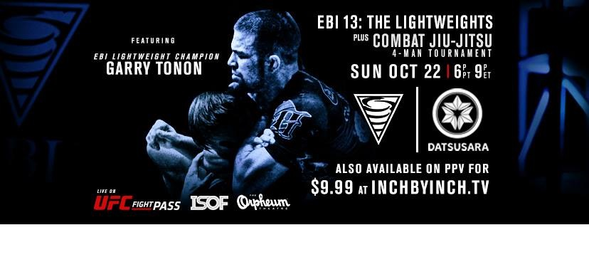 LIVE – EBI 13 Results – The Lightweights + Combat Jiu Jitsu