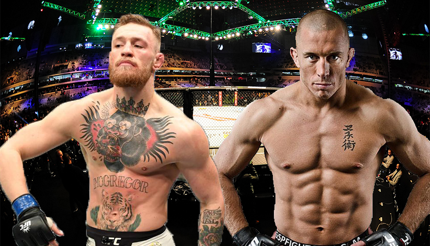 Conor McGregor vs Georges St-Pierre