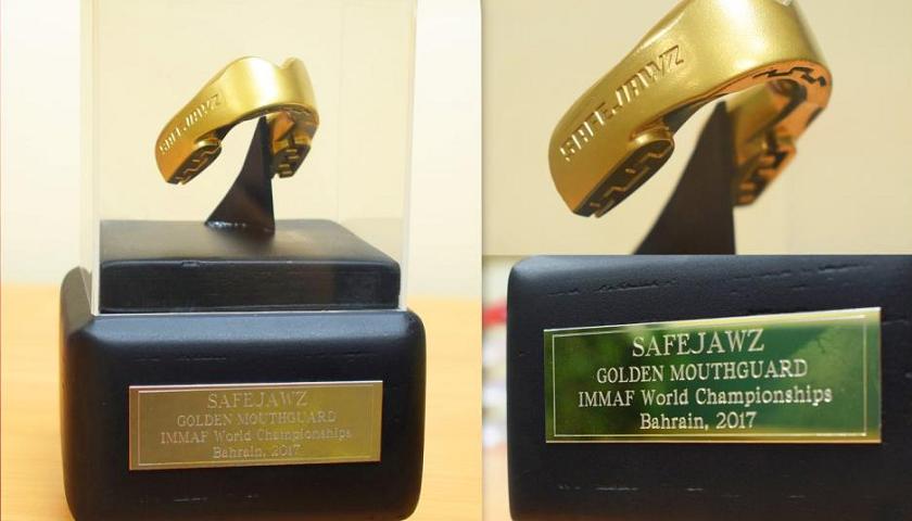 Safejawz To Launch Golden Mouthguard Award At 2017 IMMAF World Championships