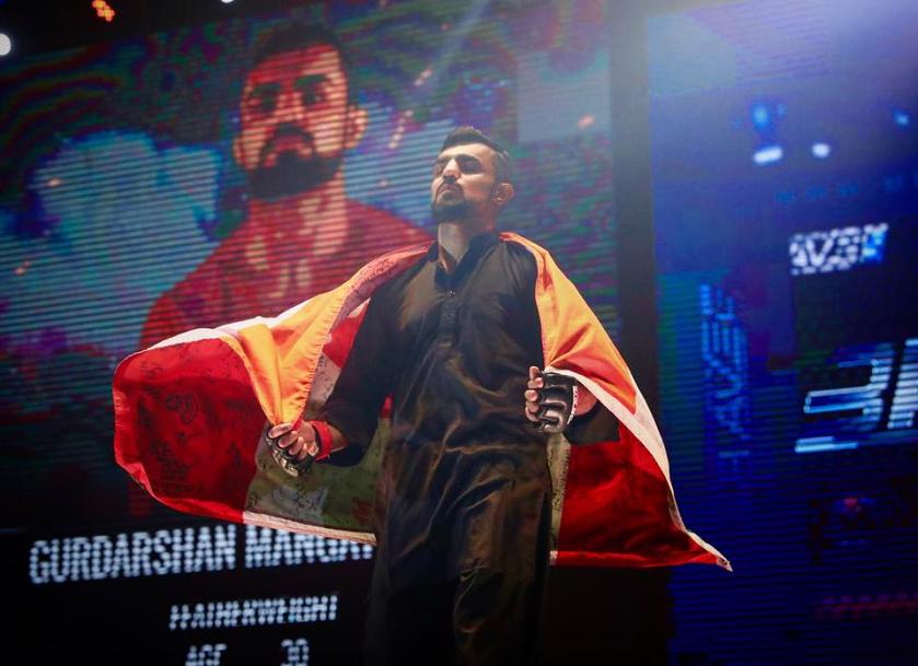 Family tragedy motivating Gurdarshan Mangat to make history at Brave 9