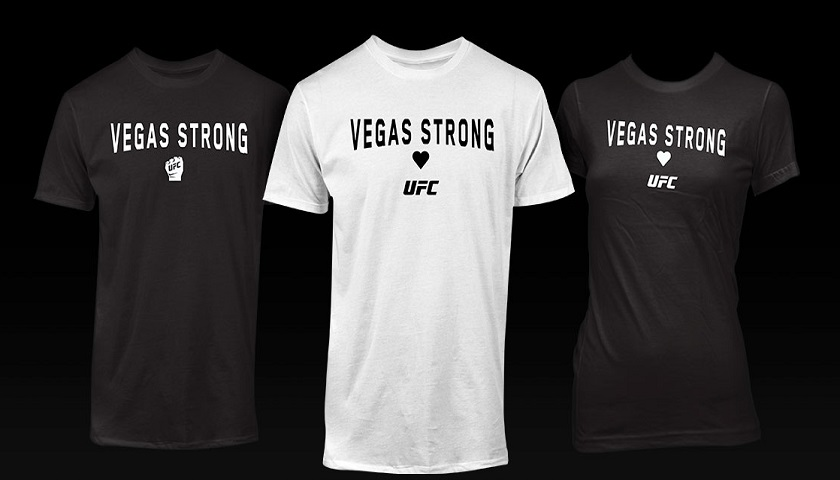 Special Vegas Strong t-shirts released to support those affected by Las Vegas Shootings