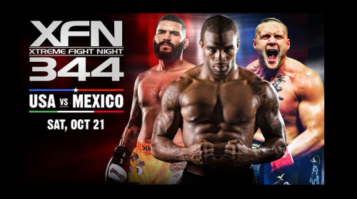 "XFN 344 ""USA vs. Mexico"" LIVE FREE Stream"
