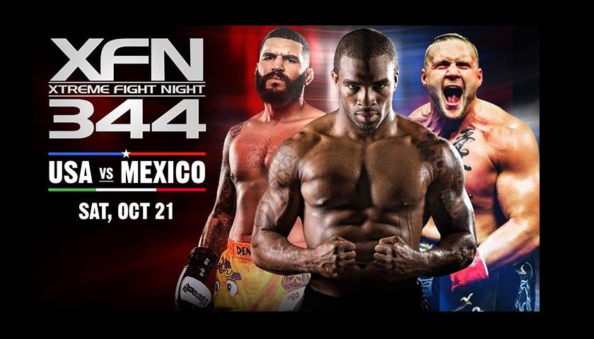 """XFN 344 """"USA vs. Mexico"""" LIVE FREE Stream"""