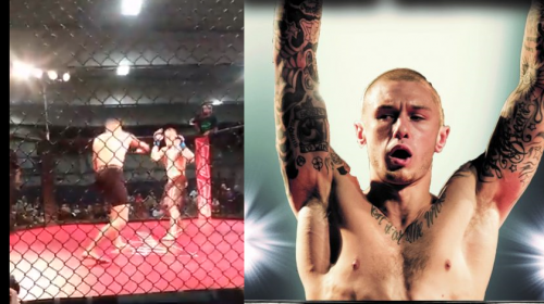Zak Kelly talks controversial Art of War Cage Fighting main event