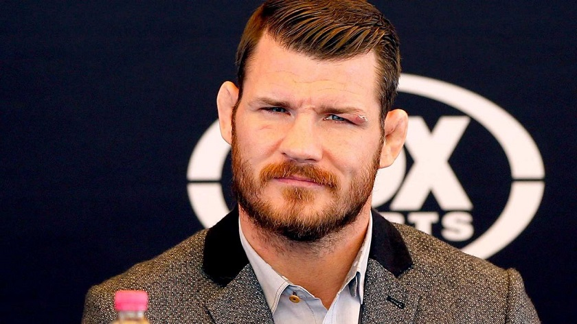 Michael Bisping replaces Anderson Silva against Kelvin Gastelum