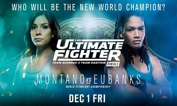 TUF 26 Finale weigh-in results – Montano vs. Eubanks