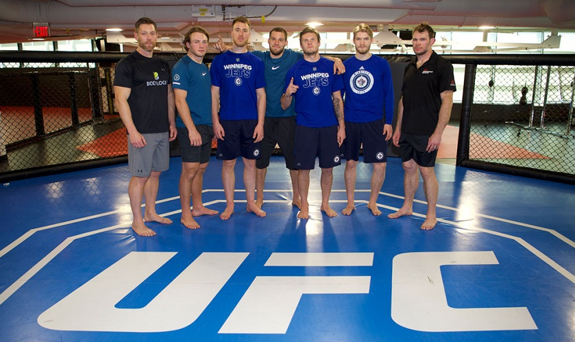 NHL Winnipeg Jets at UFC Performance Institute