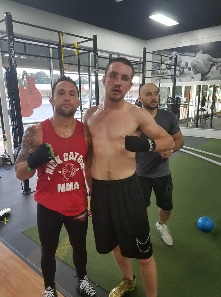 Frankie Edgar, Eugene Aubry, Marlon Moraes