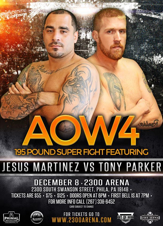 Jesus Martinez vs Tony Parker, AOW4