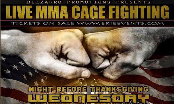 Bayfront Brawl IV brings Thanksgiving Eve title fights to Erie, Pennsylvania