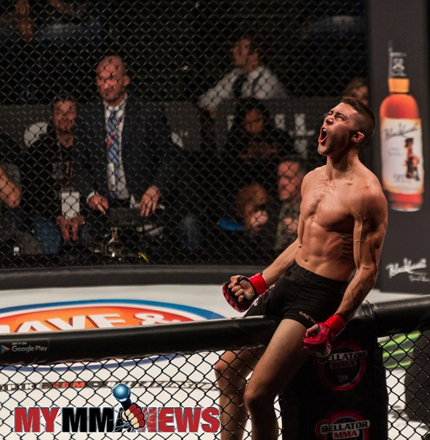The Wolf is Hungry - Mike Trizano predicts quick finish at Bellator 186