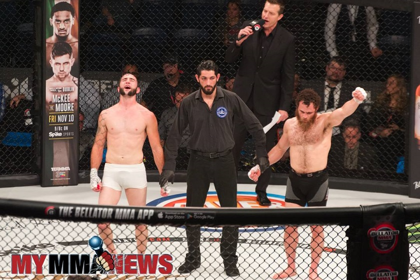 Ethan Goss frustrated with judging criteria following controversial split decision loss at Bellator 186