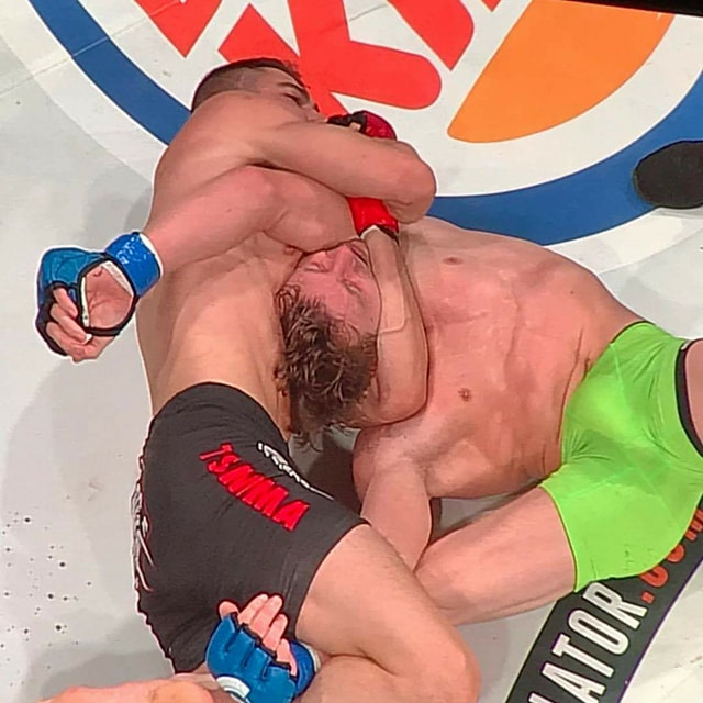 Mike Trizano submits Mike Otwell at Belaltor 186