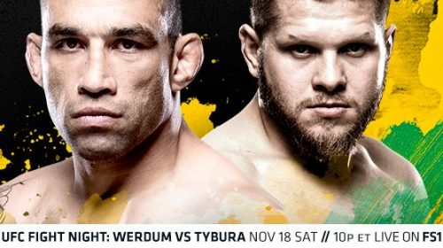 UFC Fight Night 121 Results – Werdum vs. Tybura