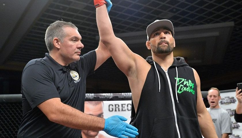 Greg Rebello pummels Derrick Brown in CES MMA 47 main event