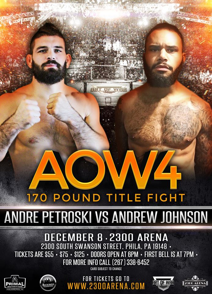 Art of War 4, Andrew Johnson vs. Andre Petroski
