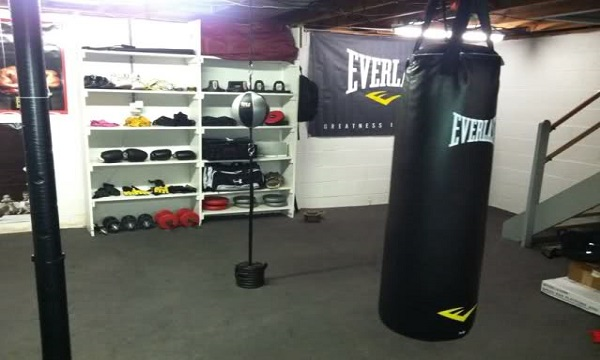 How to Turn Your Basement Into An MMA Gym
