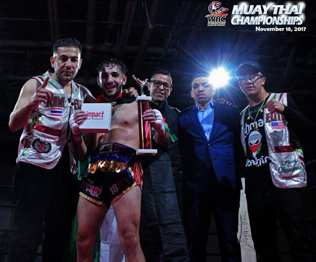 """Anthony Ford and Ahmad Ibrahim earn KO wins at the """"Muay Thai Championships"""""""