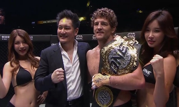 Ben Askren mauls Shinya Aoki in final fight - ONE Championship: Immortal Pursuit results