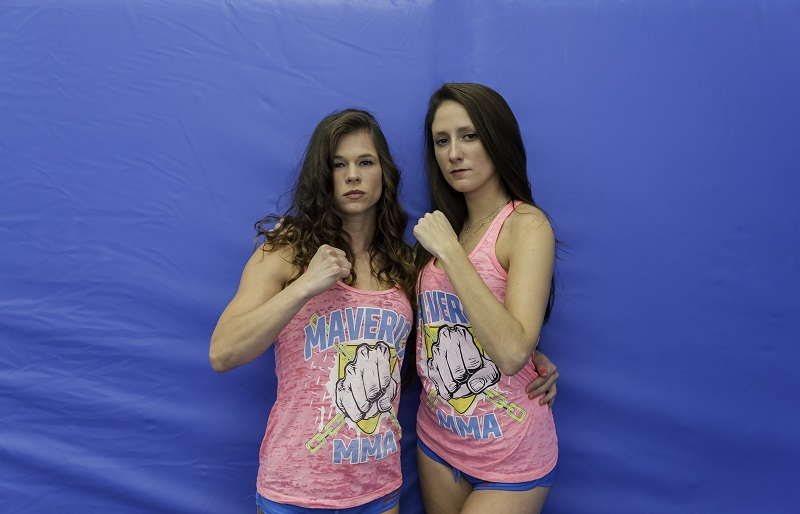 Maverick MMA ring card girls, CORE Brazilian Jiu Jitsu
