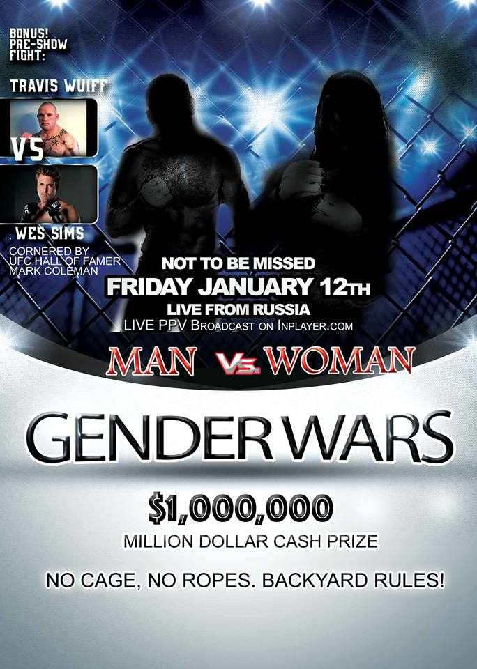 Gender Wars, Man vs Woman, Mixed Gender MMA
