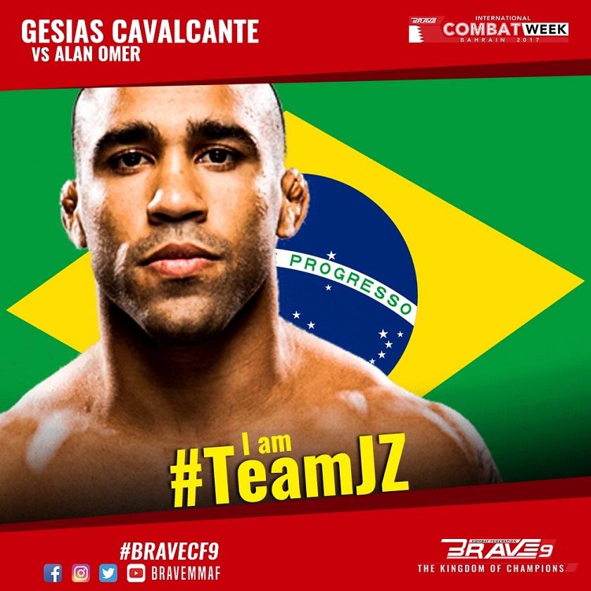 Gesias Cavalcante, Brave Combat Federation