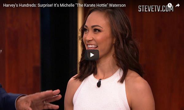 Michelle Waterson on Steve Harvey show