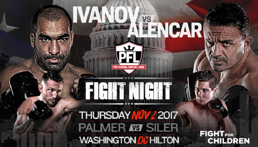 Professional Fighters League – PFL Fight Night Results