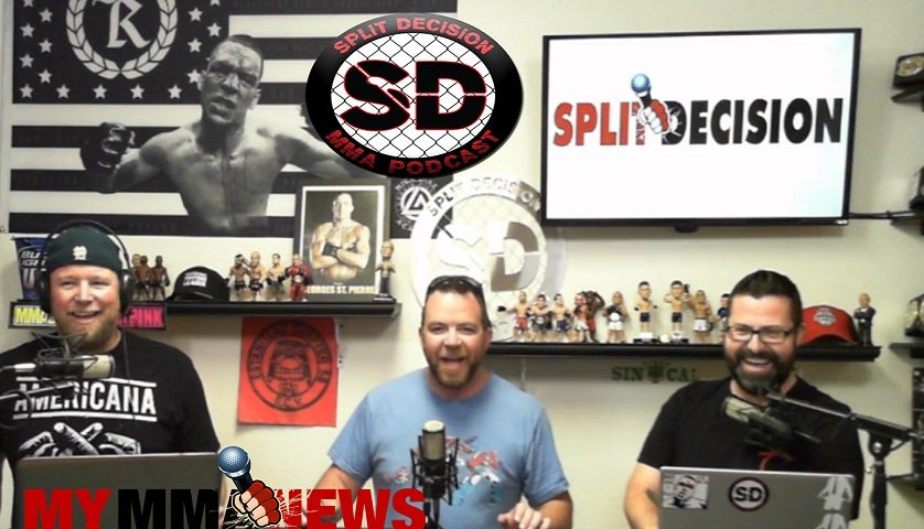 Split Decision MMA Podcast – Injury bug, USADA, UFC boxing, and more