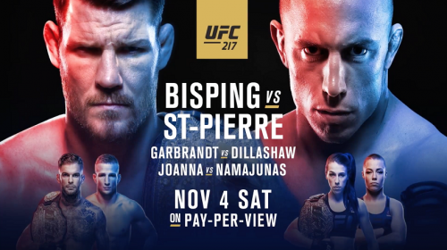 UFC 217, UFC 217 results