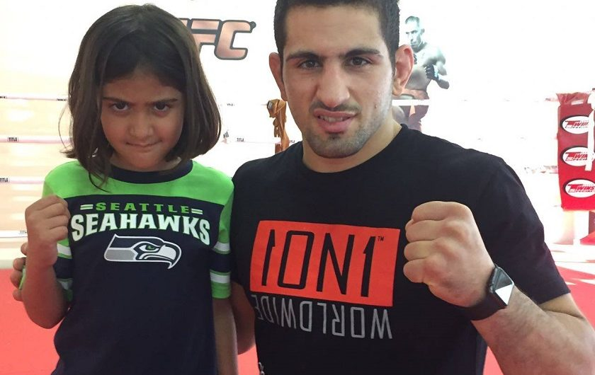 Young student provides Al-Selwady with special motivation ahead of Brave 9 showdown