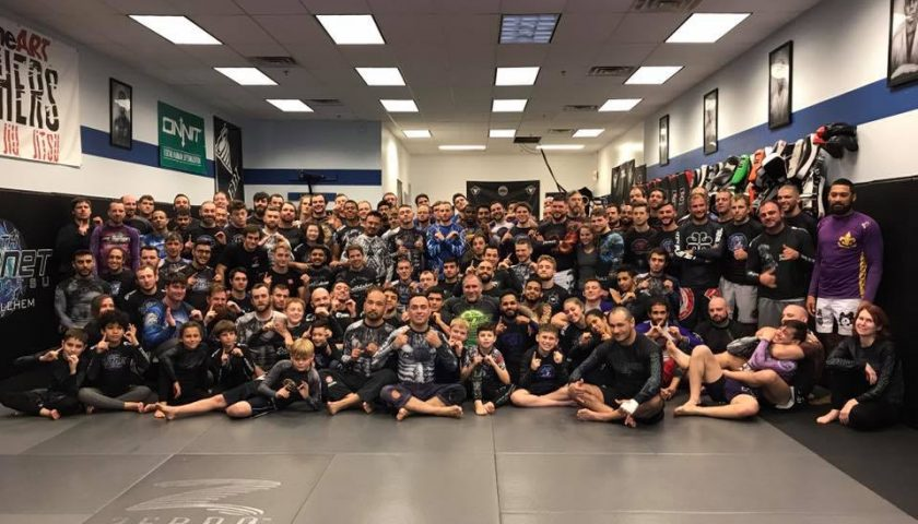 10th Planet Bethlehem Packs House for East Coast Eddie Bravo Seminar