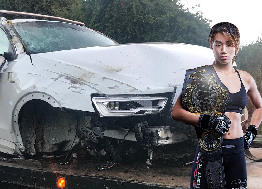 ONE atomweight champ Angela Lee injured in serious car accident, title defense postponed