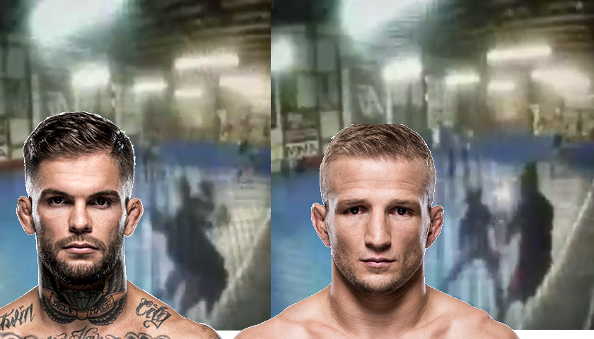 Cody Garbrandt finally posts the infamous T.J. Dillashaw knockout video