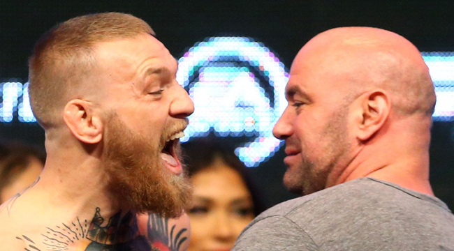 Dana White:  Conor McGregor may never fight again