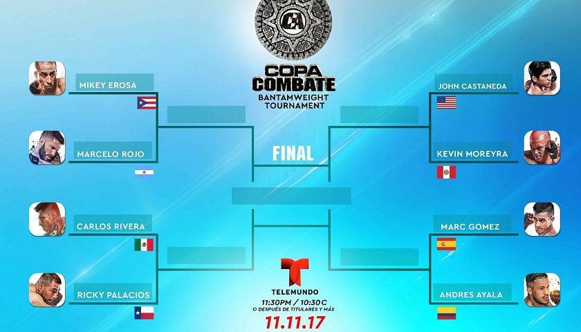 """Copa Combate:"" Tournament Matchups Set for Live NBCSN & Telemundo Event"
