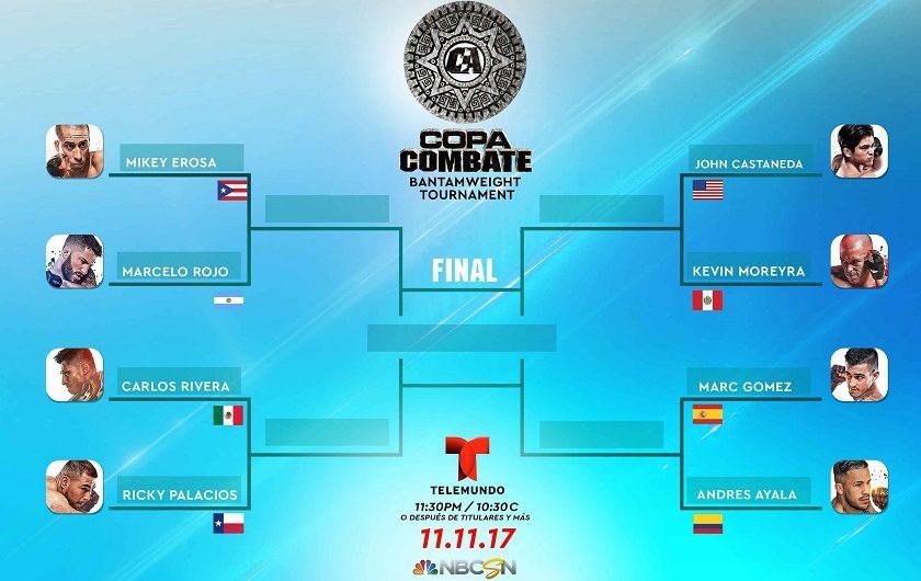 """Copa Combate:"" Tournament Matchups Set for Live NBCSN & Telemundo Event"