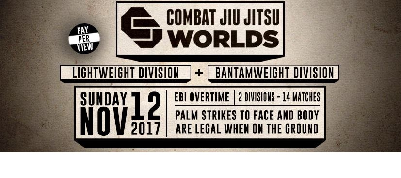 Combat Jiu Jitsu Worlds 1 – Bantamweights and Lightweights Preview