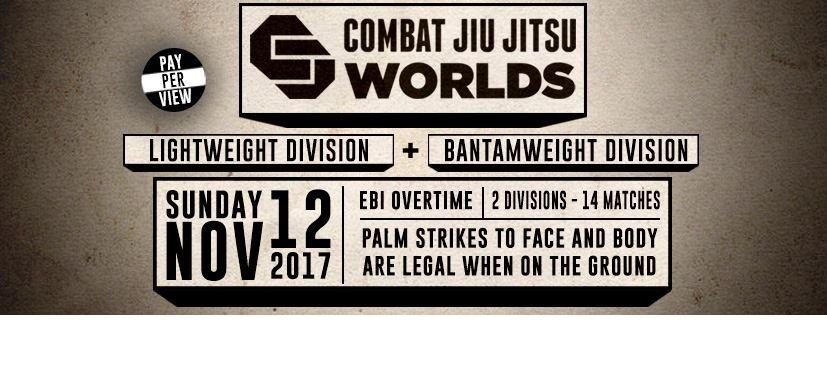 LIVE RESULTS – Combat Jiu-Jitsu Worlds 1 – Bantamweights and Lightweights