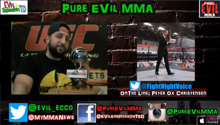 Ring Announcer Peter Ox Christensen on Pure EVil MMA