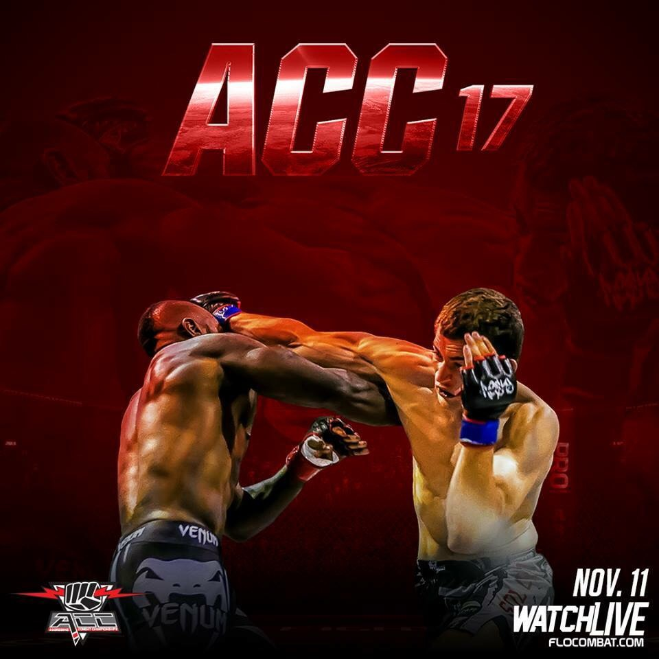 ACC 17 Weigh-in Results - Aggressive Combat Championship