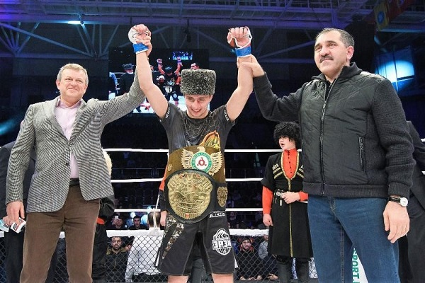 Khamzat Dalgiev stops defending champion Ivan Buchinger in opening round to capture M-1 Challenge featherweight title